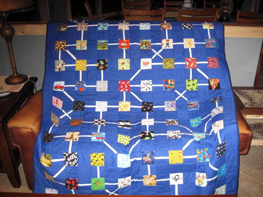 I Spy Boy Story Quilt Completed | My final quilted version  | Flickr