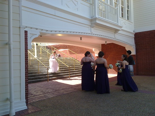 Wedding at the Boardwalk today #disney #wdw | by Erin *~*~*