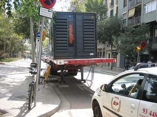 Generador al Carril Bici | by apagada_barcelona07