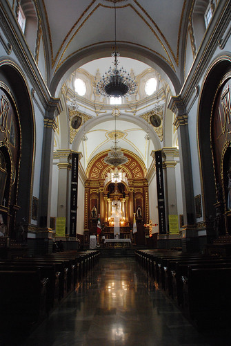 Templo del Carmen en Tehuacán