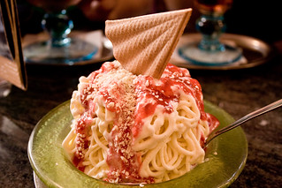 Spaghetti Ice Cream | by Christian Cable