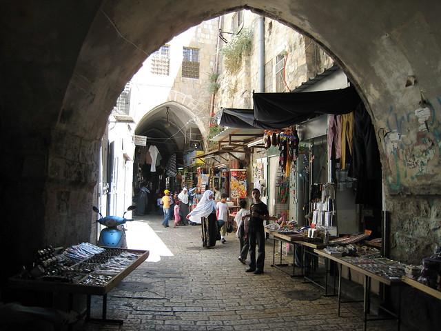 Souk, Jerusalem