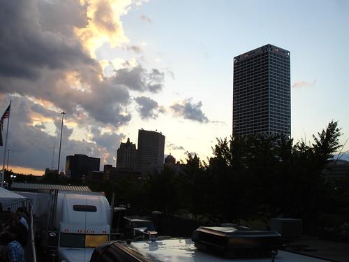 Downtown Milwaukee from Summerfest   by BZalewski
