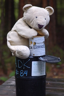 The largest bear  made off with the oatmeal   by Ketzirah & Art
