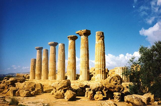 Sunny columns, Turkey