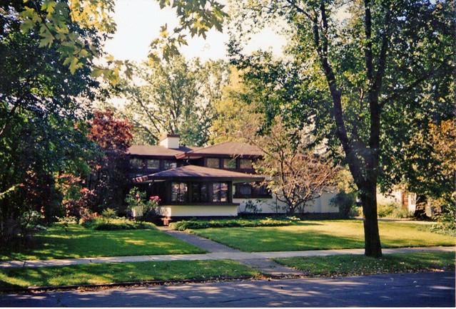Walter V. Davidson House: Buffalo, NY ~ Frank L. Wright