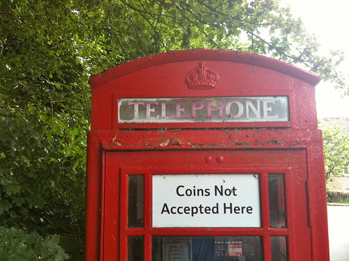 Old Telephone Box at Swinbrook Village | by Tip Tours