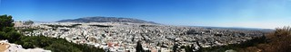Panoramic view of Athens from Filopappou Hill | by rachellake
