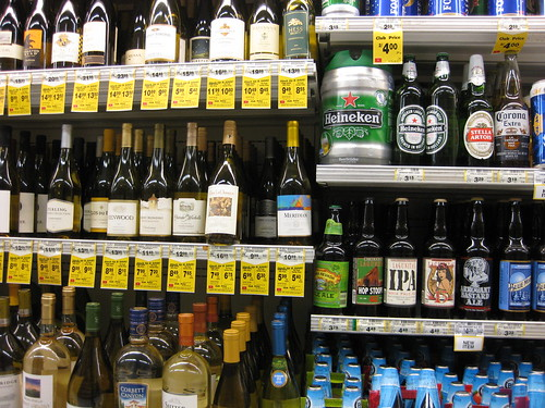 liquor at the grocery store | by Amy the Nurse