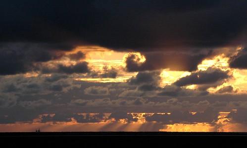 sunset sky clouds spectacular landscape nikon henk noordpolderzijl powerfocus