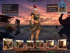 Alessa with santa hat   by Mellicious