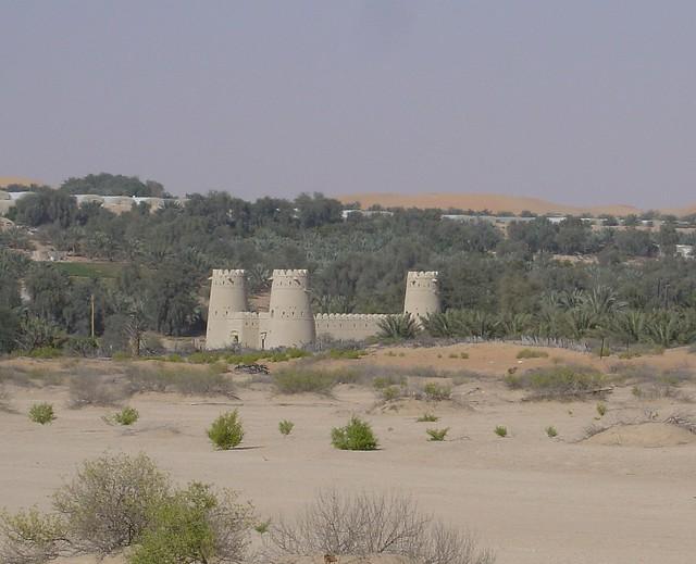 Fort, Liwa Oasis, Abu Dhabi, UAE