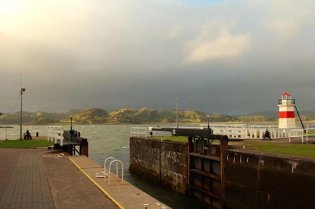 Crinan Canal Atlantic side