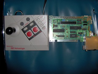 NES Advantage vs. NES mother board | by tom611
