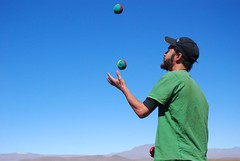 Juggling On The Altiplano   by Andy Hares