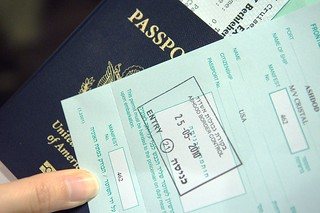 random bits: get your israel visa stamped OUTSIDE the passport | by koadmunkee