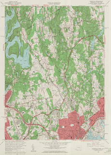 Glenville Quadrangle 1960 - USGS Topographic 1:24,000 | by uconnlibrarymagic