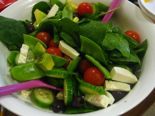 Snowpea salad   by phonakins