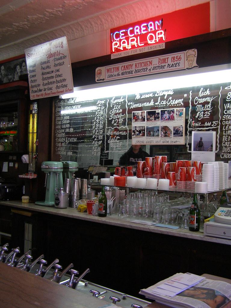 Soda Fountain Wilton Candy Kitchen Robert E Flickr