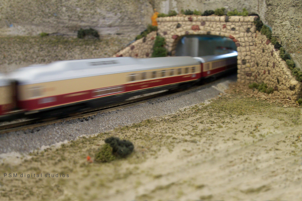 Brea Train Fest Z Scale Model Railroad in Motion | ZoCal Z s