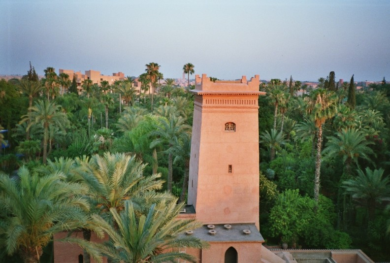View over Marrakesh