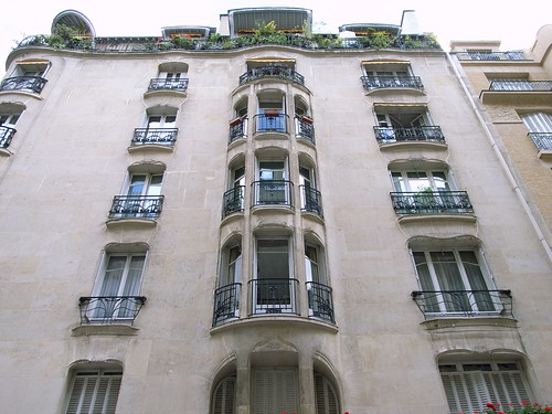 Apartments, Rue La Fontaine | by stevecadman