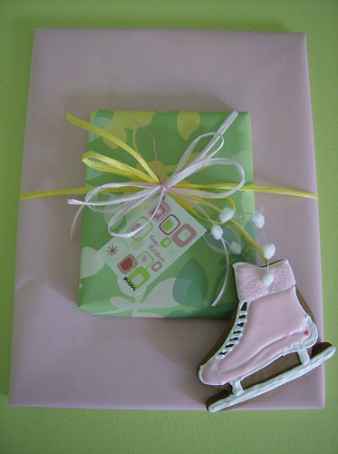 Pink Ice Skate Cookie   by Pinks & Needles (used to be Gigi & Big Red)