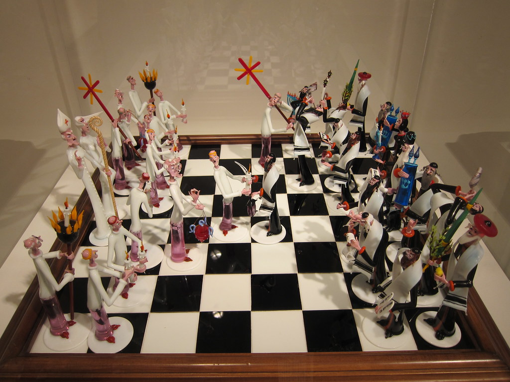 Jews | By Evenkolder Coolest Chess Set Ever!! Catholics Vs. Jews | By  Evenkolder