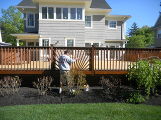 Exterior Deck Refinishing in Maplewood New Jersey | by OlgerFallasPainting