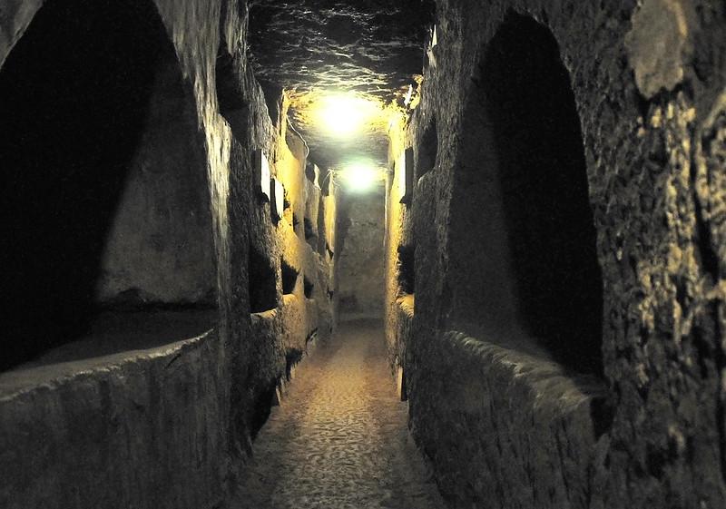 Italy-0714 - Catacombs of St. Domitilla