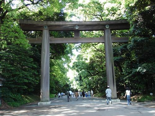Meiji Shrine Gate   by JoetheLion