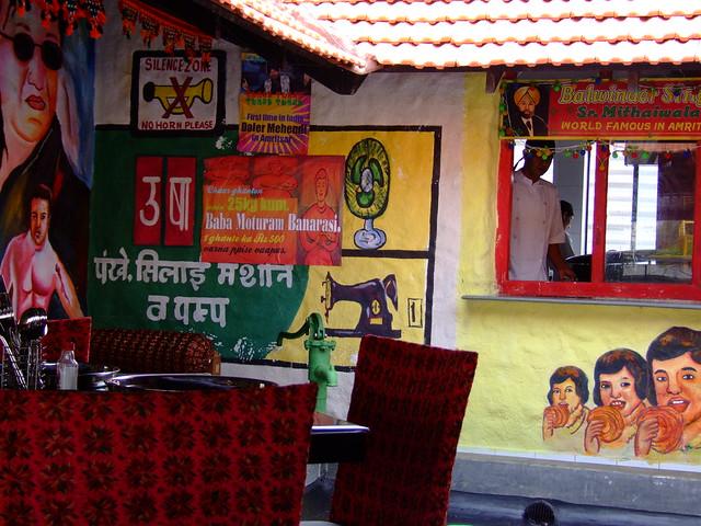 Oye amritsar, Restaurant, Bangalore, Church street