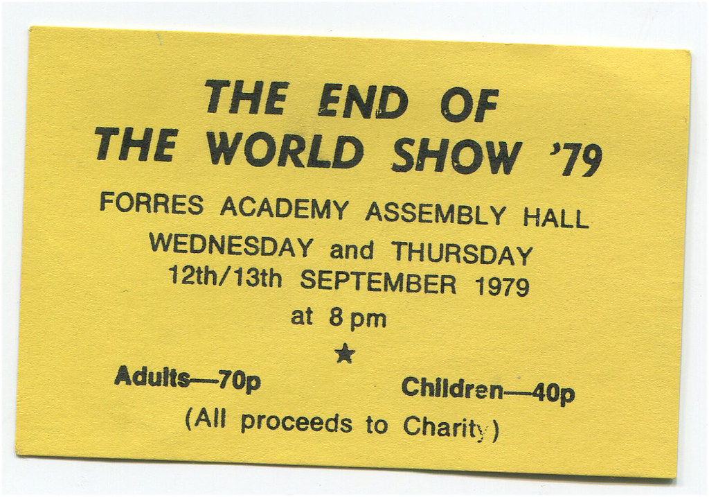 End of the World Show 12&13/09/79