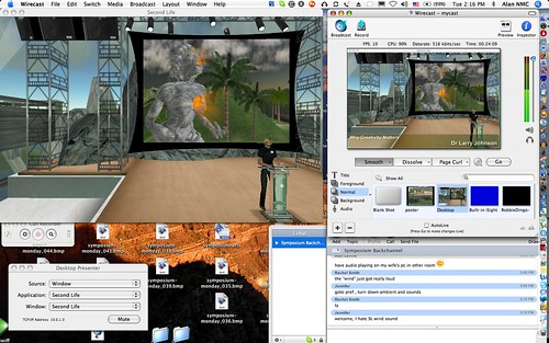 Wirecast at Work | by cogdogblog