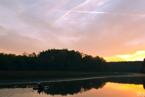 reflection sunrise canon river rebel dawn maryland tamron silverspring tamronspaf180mmf35dildifmacro rockygorgereservoir t1i mygearandmepremium mygearandmebronze mygearandmesilver