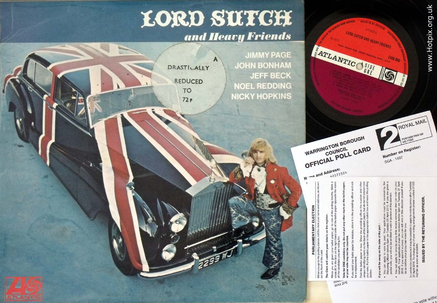 2010,british,uk,general,election,politics,parliament,polling,party,political,vinyl,album,lord Sutch and heavy friends,jimmy,page,music,musicians,sex,sexy,history,old,hotpix!