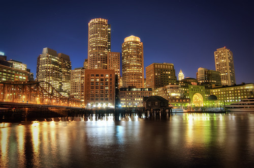Boston Downtown at Night | by Werner's World