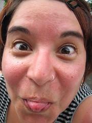 sunburnt kim! | by jenn l.