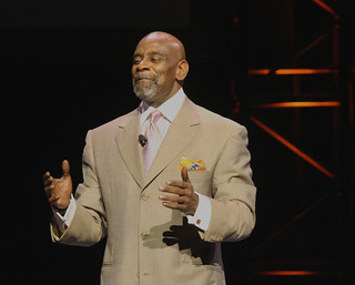 "Chris Gardner, the inspiration for the film ""The Pursuit of Happyness"" with Will Smith 