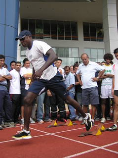 Carl Lewis in Singapore (2006) | by moi-carine