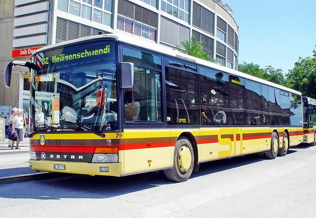 STI Setra S319NF in Thun 9.8.2005 0212