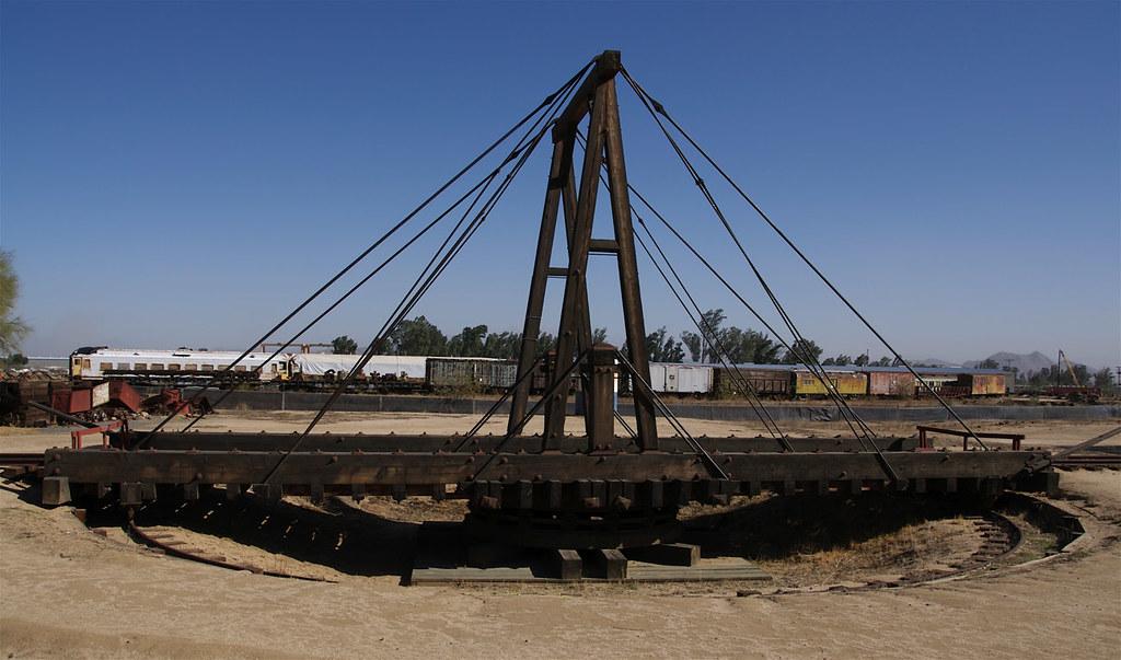 Railroad Turntable, Perris, California | Bridgepixing a Hist