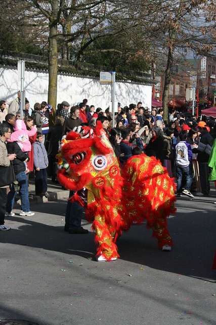 Red Dragon at the Vancouver Chinese New Year Parade