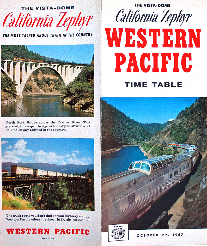 California Zephyr 1967 Western Pacific Timetable | This is a ... on southern pacific rail map, western pacific map map, western pacific products, air pacific route map, western airlines route map 1985, northern pacific route map, pacific railroad map, union pacific route map, western pacific feather river route, norfolk & western route map, north fork southern railroad map, western pacific weather, western pacific airlines, western pacific cars, feather river canyon map, southern pacific route map, missouri pacific route map, chicago railroad map, central pacific route map, california railroad map,