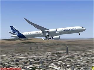 Airbus 350 Mexico city