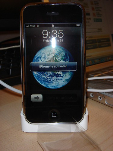 An Activated iPhone