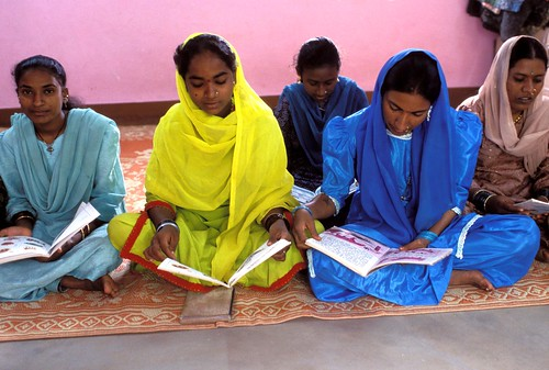 Women at an adult literacy class   by World Bank Photo Collection