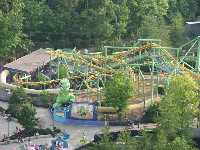 Rugrats Runaway Reptar Rollercoaster