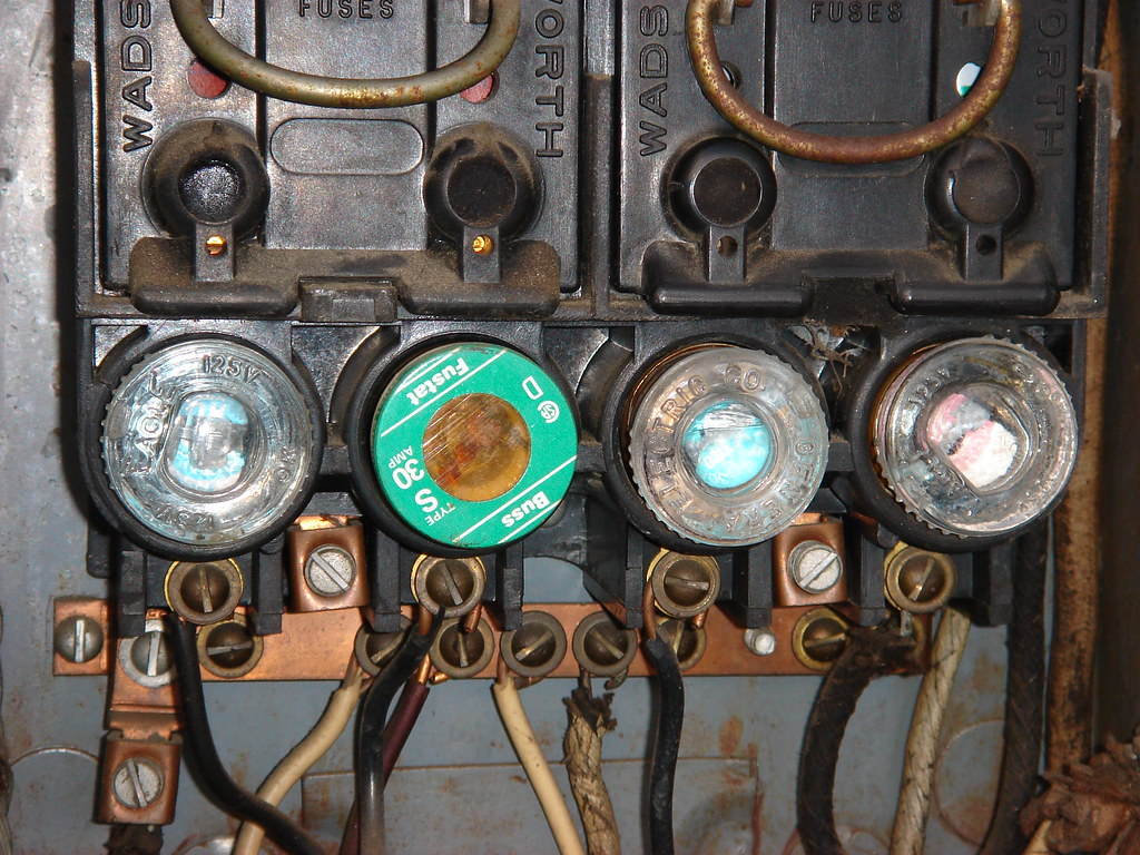 old electrical fuse box | a view of an old electrical box wi… | flickr  flickr