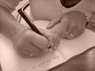 diary writing | by freddie boy
